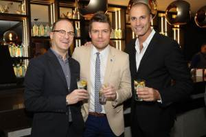Nigel Barker and friends at the AC Hotels and Bombay Sappphire Gin & Tonic Launch