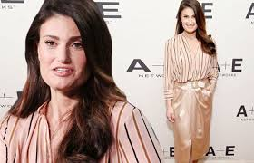 Idina Menzel looks chic as she talks Beaches remake at TCA panel