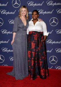 Actresses Kirsten Dunst (L) and Octavia Spencer attend the 28th Annual Palm Springs International Film Festival Film Awards Gala