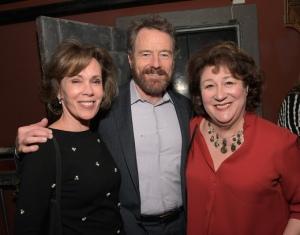 (L-R) Actress Robin Dearden, Creator/writer/director Bryan Cranston and actress Margo Martindale