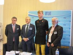 """Speaking for Europe's civil society, Mr. Georges Dassis, President of the EESC, declared: """" 10,000 victims of human trafficking reported every year"""