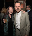 Casting director Donna Rosenstein (L) and actor Giovanni Ribisi