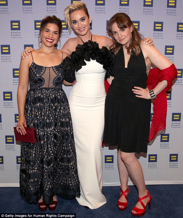 HRC Honors Ferrera & Katy Perry | Annual Gala in Los Angeles
