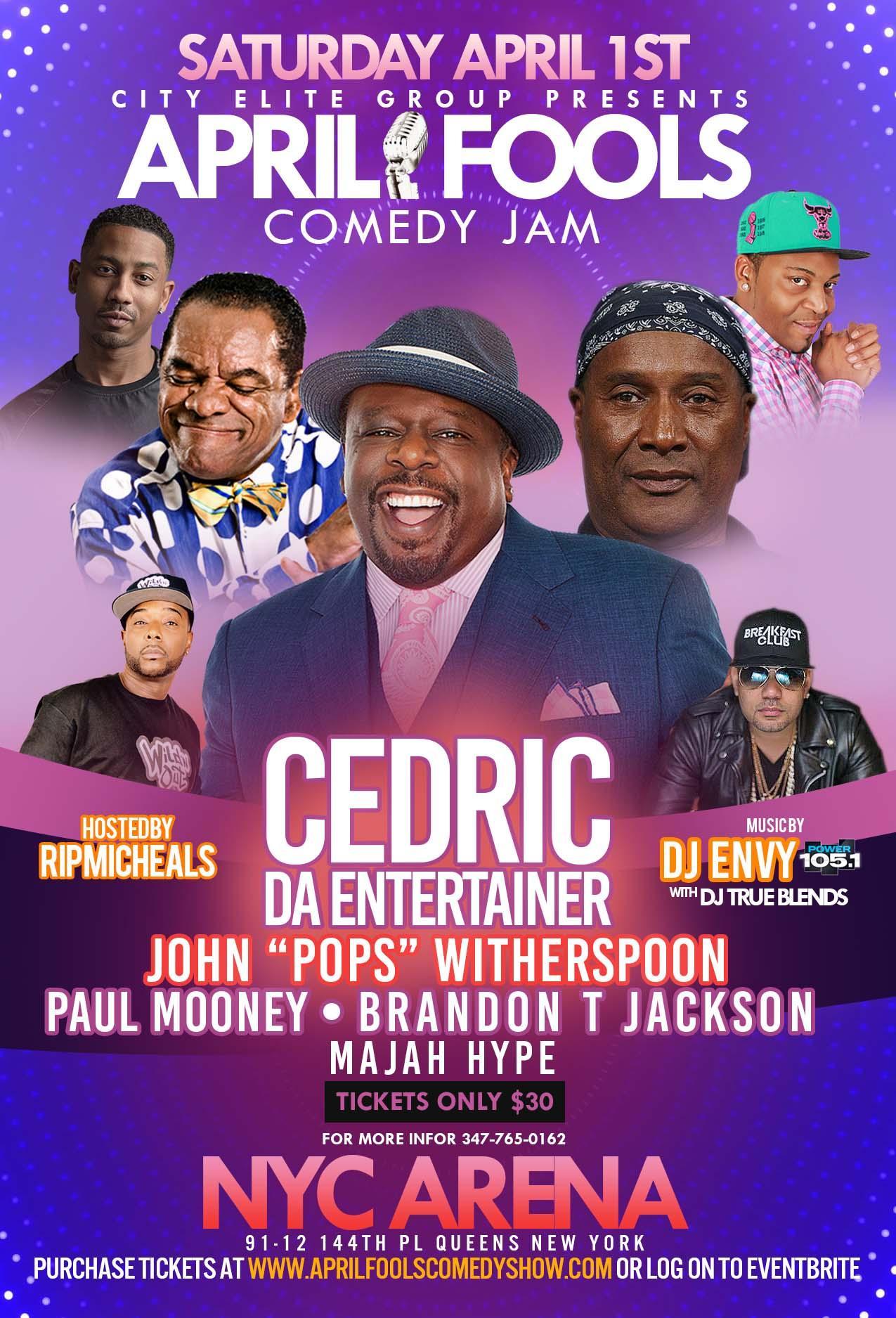 April Fools Comedy Jam 2017 | Comedy News