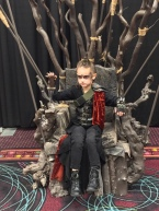 Cosplayers Lexa and Little Lexa!