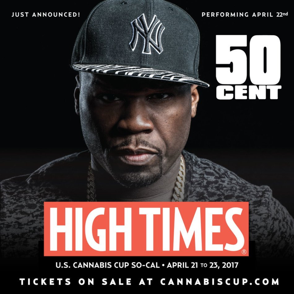 50 Cent | High Times Magazine | Cannabis Cup So Cal 2017