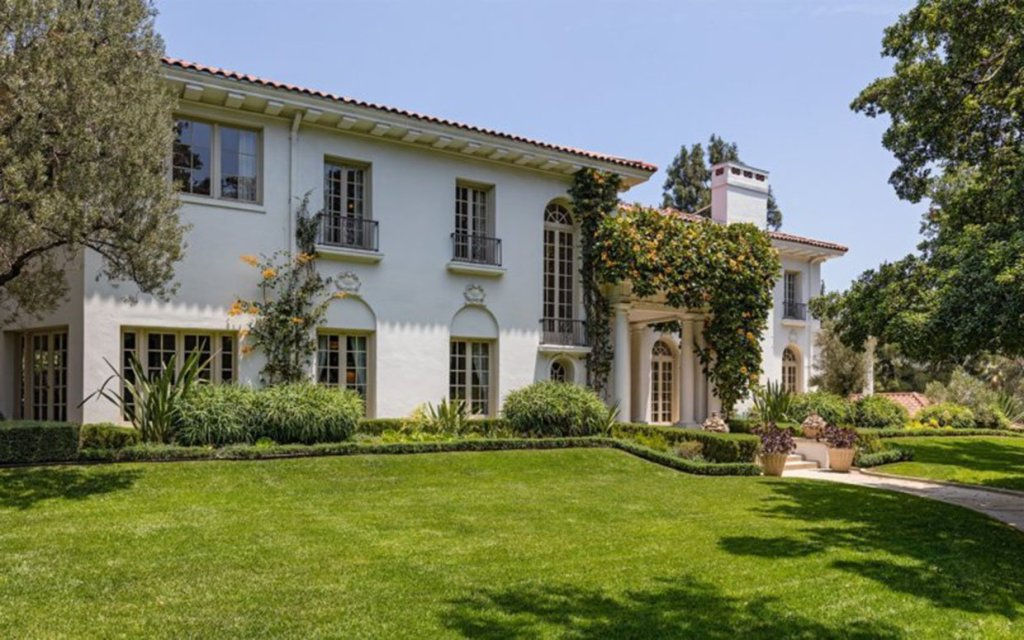 Angelina Buys Cecil B. DeMille Mansion