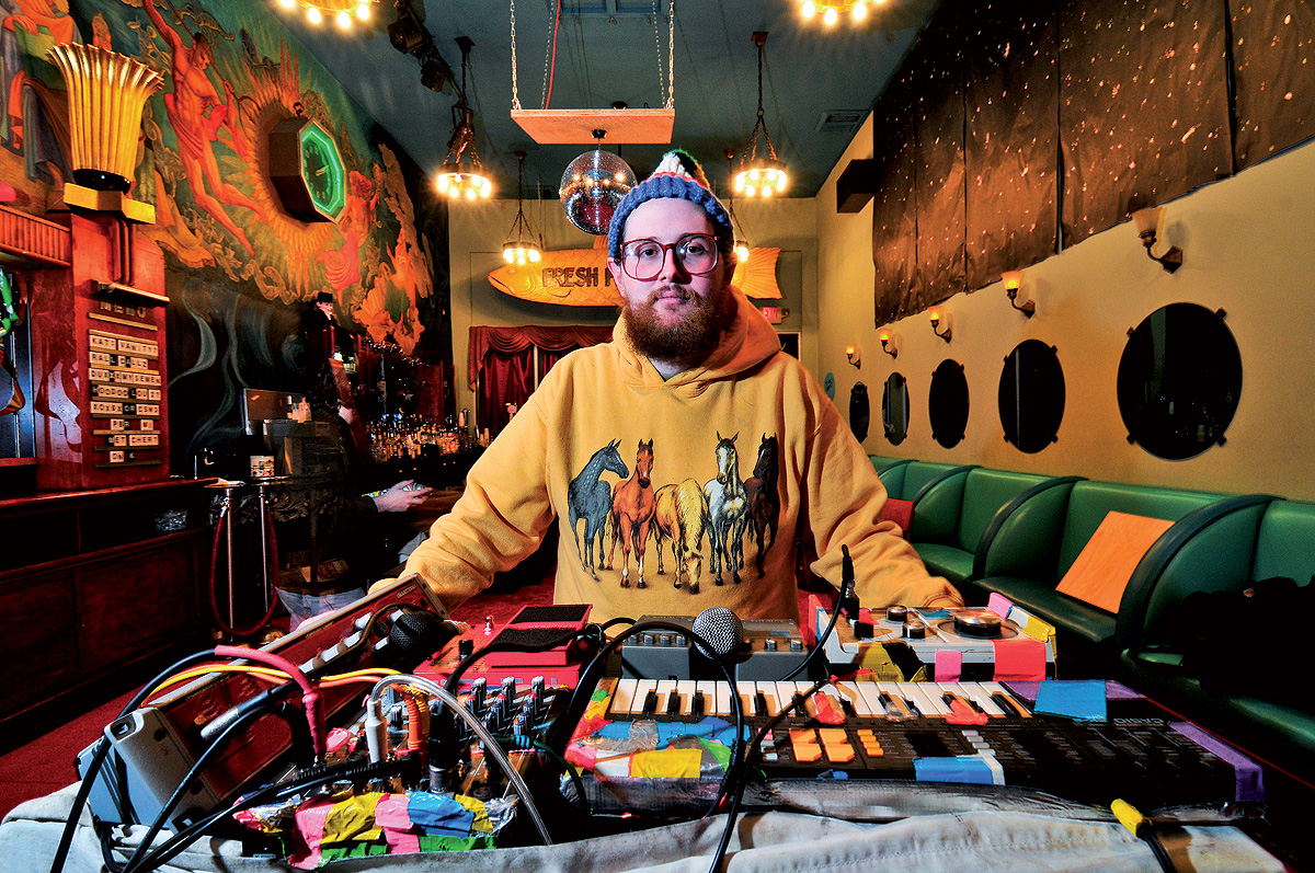 Dan Deacon | Composer | Blue Man Group | Music News 2017