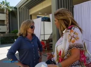Mariah Hanson and Milano discussing The Dinah and NCLR