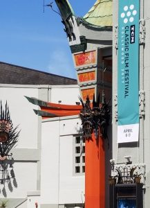 TCM Classic Film Festival Banner at TCL Chinese Theater