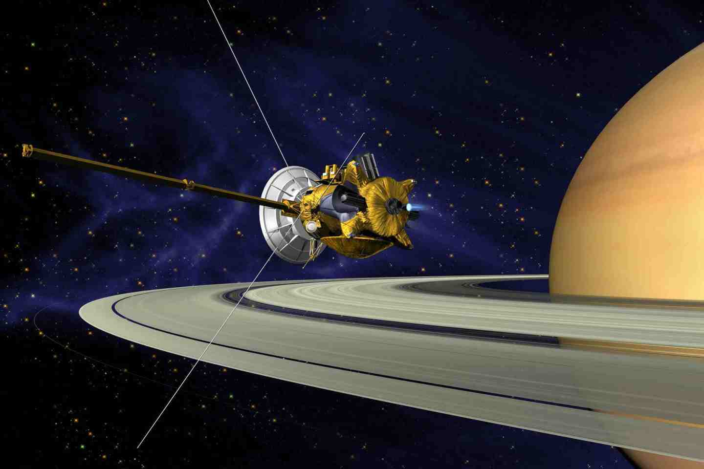 CASSINI SPACECRAFT Science Lectures Hollywood CA 2017