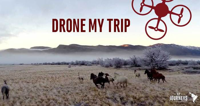 VIP Journeys Launches Drone My Trip For One of a Luxury Kind Travel Experiences in LatinAmerica