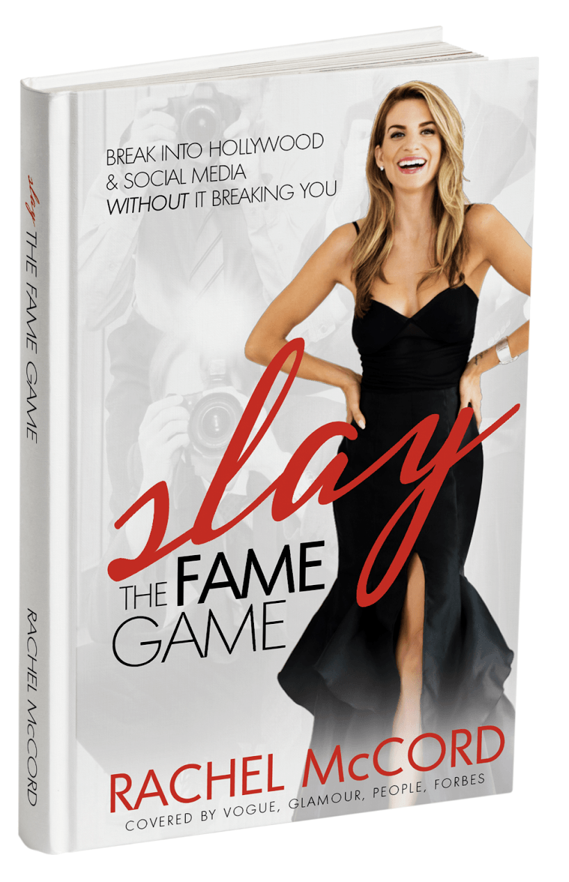Author Rachel McCord and her book 'Slay The Fame Game'