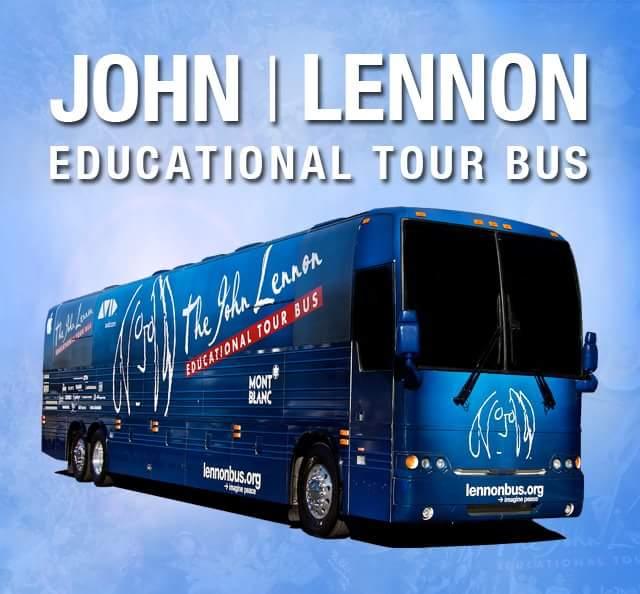 John Lennon Educational Tour Bus at NAMM2018