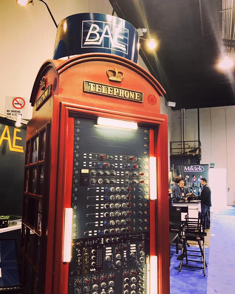 NAMM RECAP – BAE Audio and UKSound