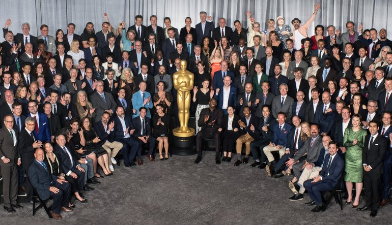90th Oscar's Luncheon Class Photo