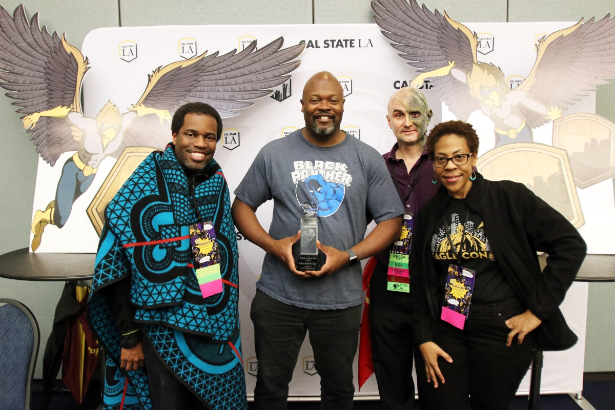 Cal State LA Honors Marvel's Luke Cage Creator and Acclaimed Science Fiction Writer at Eagle-Con