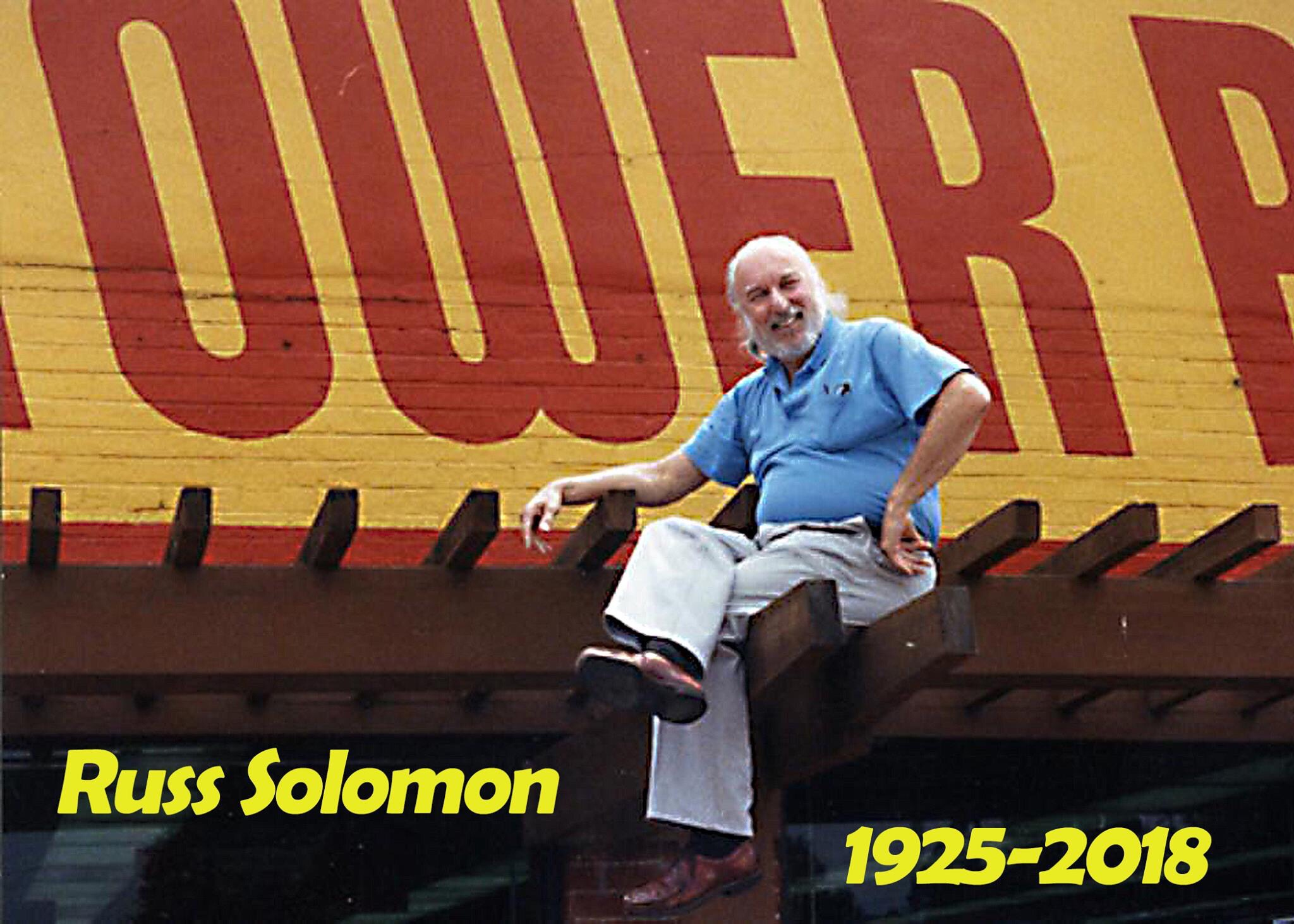 Tower Records Founder Russ Solomon R I P  | The Hollywood Times