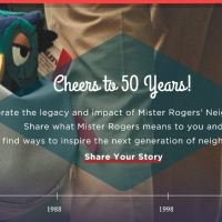 The Mister Roger's Neighborhood 50th Anniversary Celebration!